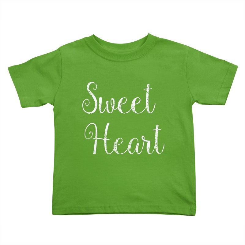 Sweet Heart Kids Toddler T-Shirt by Honeybee Clothing and Wares