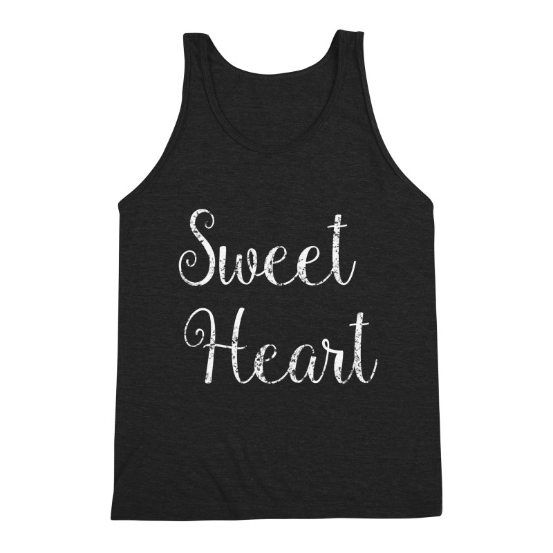 Sweet Heart Men's Tank by Honeybee Clothing and Wares