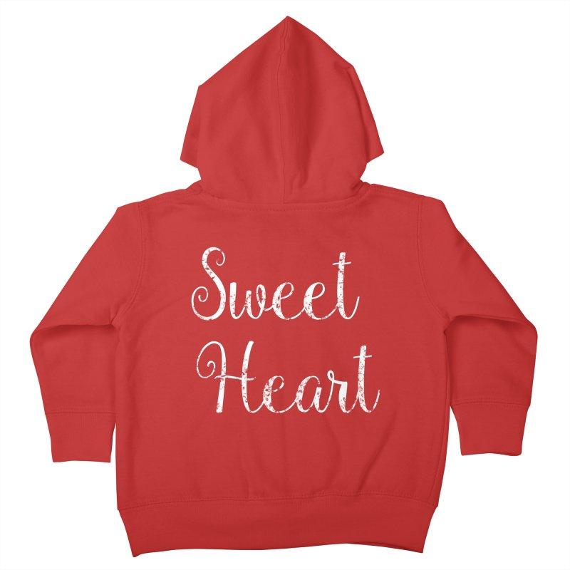 Sweet Heart Kids Toddler Zip-Up Hoody by Honeybee Clothing and Wares
