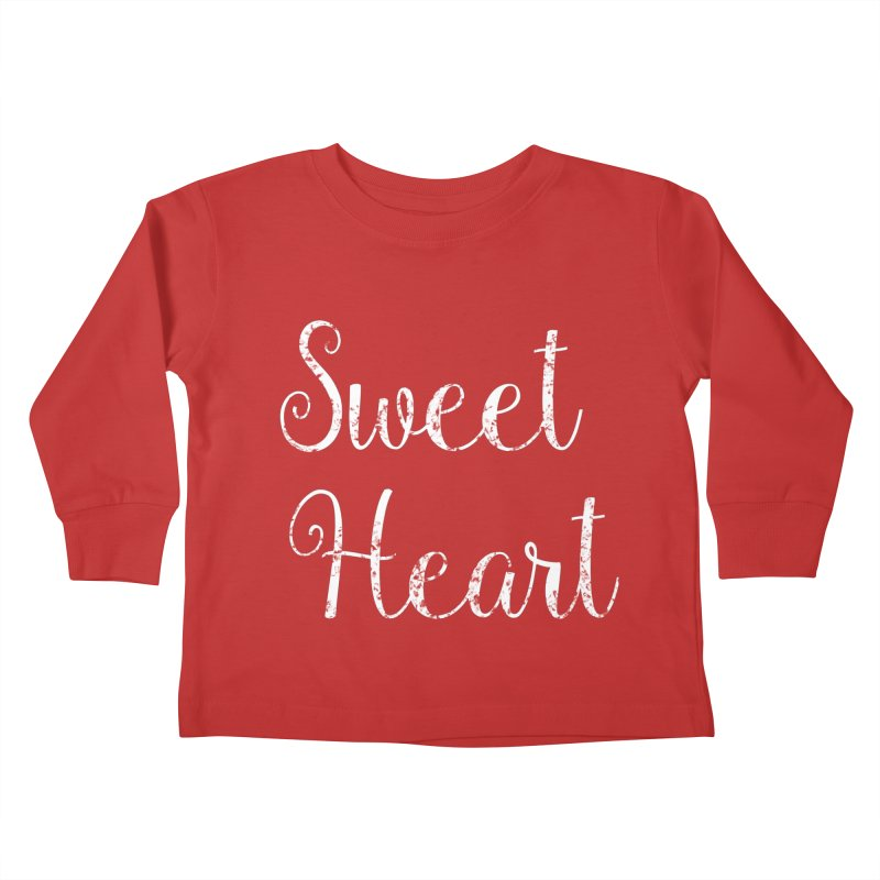 Sweet Heart Kids Toddler Longsleeve T-Shirt by Honeybee Clothing and Wares