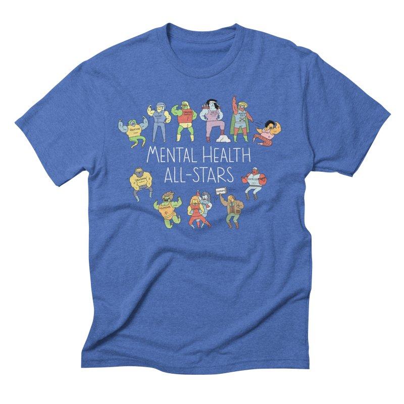 Mental Health All-Stars Men's T-Shirt by Honey Dill on Threadless