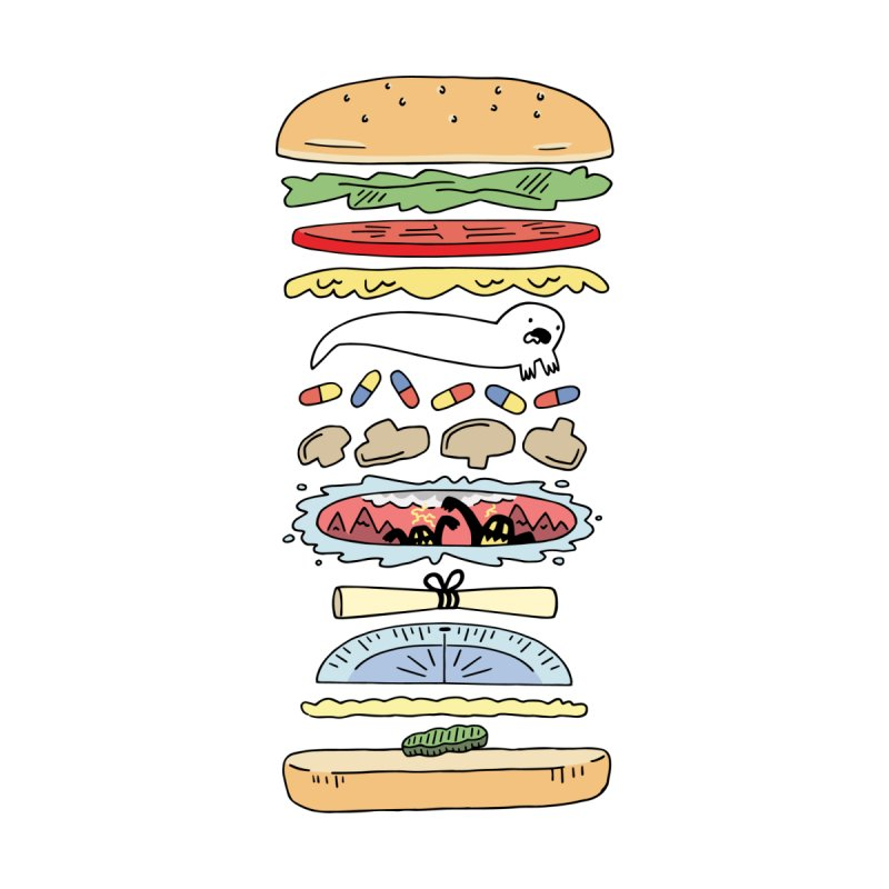 Perfect Burger by Honey Dill on Threadless
