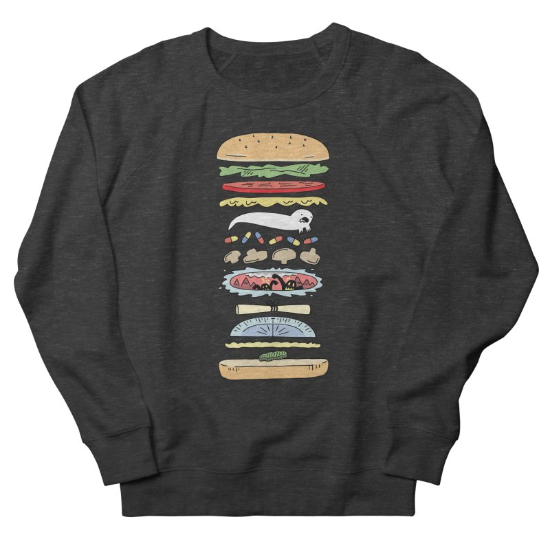 Perfect Burger Women's French Terry Sweatshirt by Honey Dill on Threadless