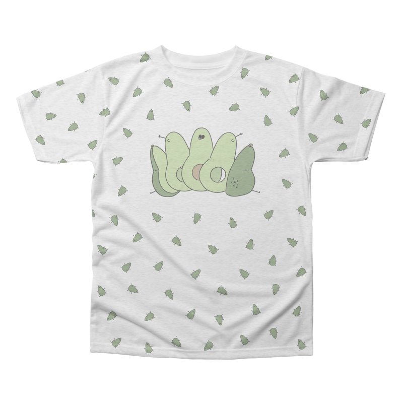 Avocado Men's Triblend All Over Print by Honey Dill on Threadless