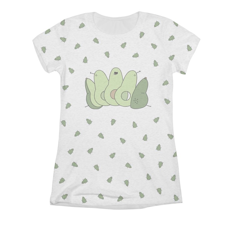 Avocado Women's Triblend All Over Print by Honey Dill on Threadless