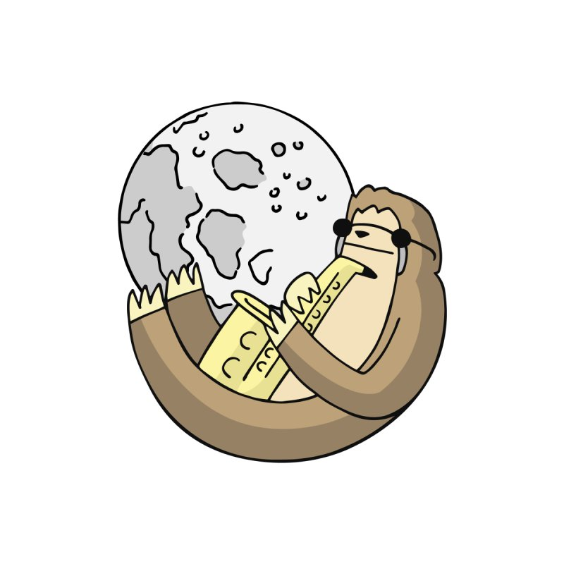 Sexy Sloth by Honey Dill on Threadless
