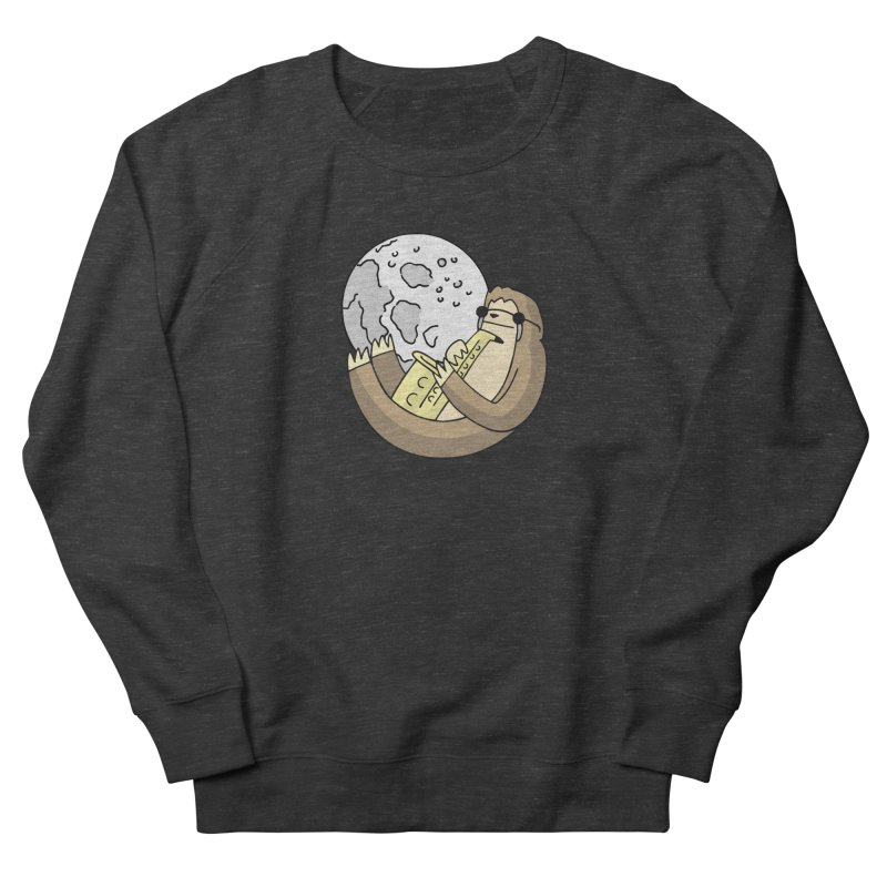 Sexy Sloth in Women's French Terry Sweatshirt Smoke by Honey Dill on Threadless