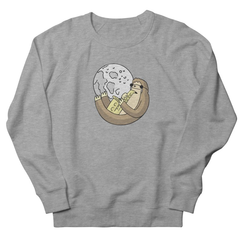Sexy Sloth Women's French Terry Sweatshirt by Honey Dill on Threadless