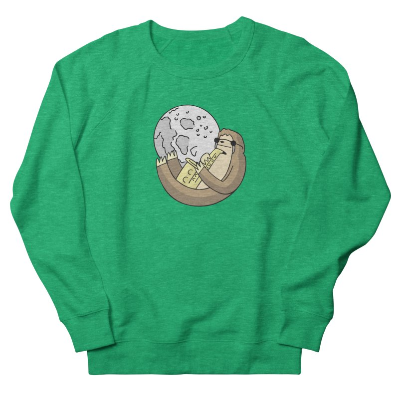 Sexy Sloth Men's French Terry Sweatshirt by Honey Dill on Threadless