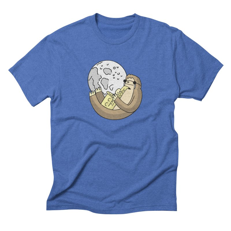 Sexy Sloth Men's Triblend T-Shirt by Honey Dill on Threadless