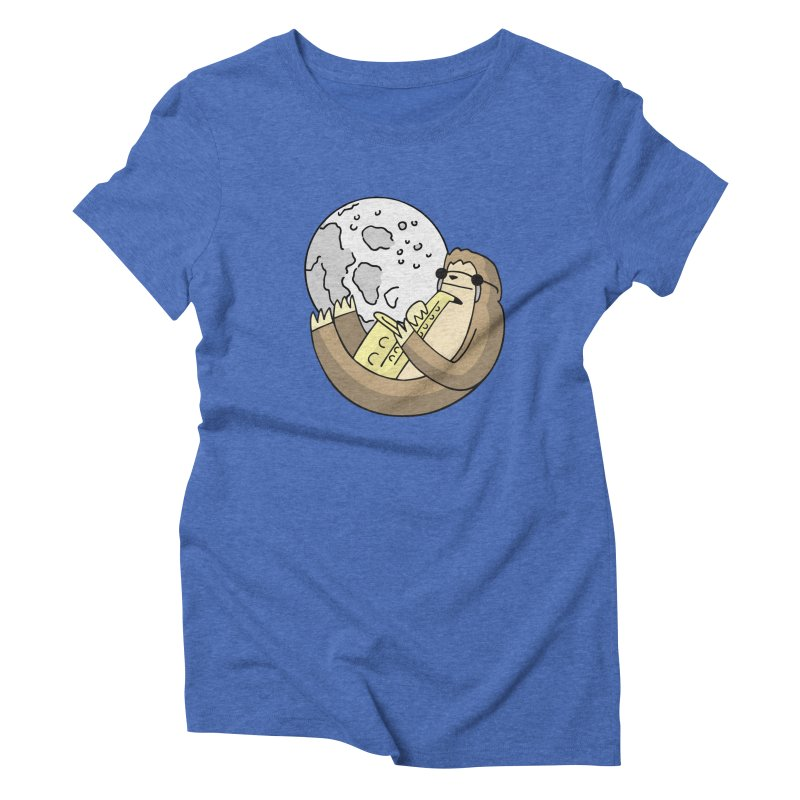 Sexy Sloth Women's Triblend T-Shirt by Honey Dill on Threadless
