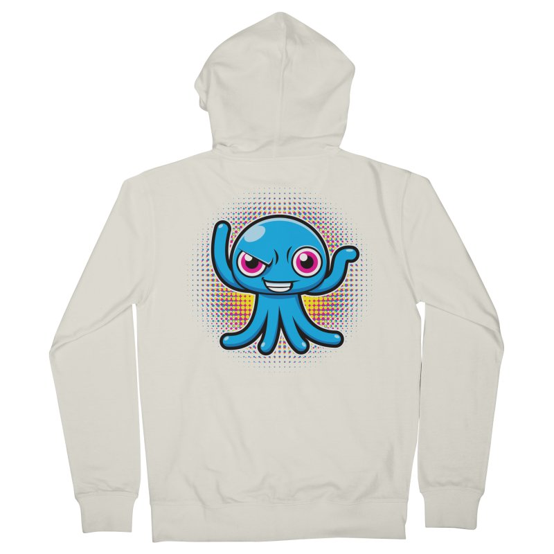 Alien Men's Zip-Up Hoody by hookeeak's Artist Shop