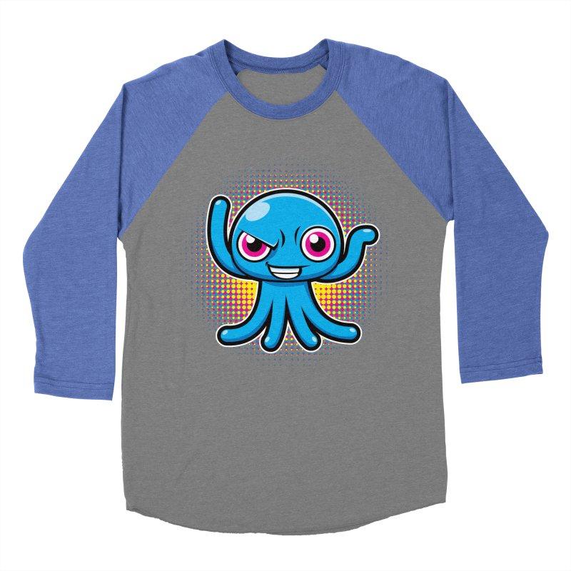 Alien Men's Baseball Triblend T-Shirt by hookeeak's Artist Shop