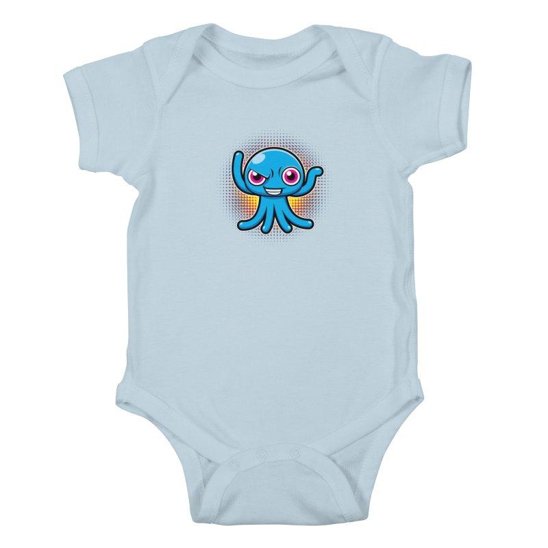Alien Kids Baby Bodysuit by hookeeak's Artist Shop