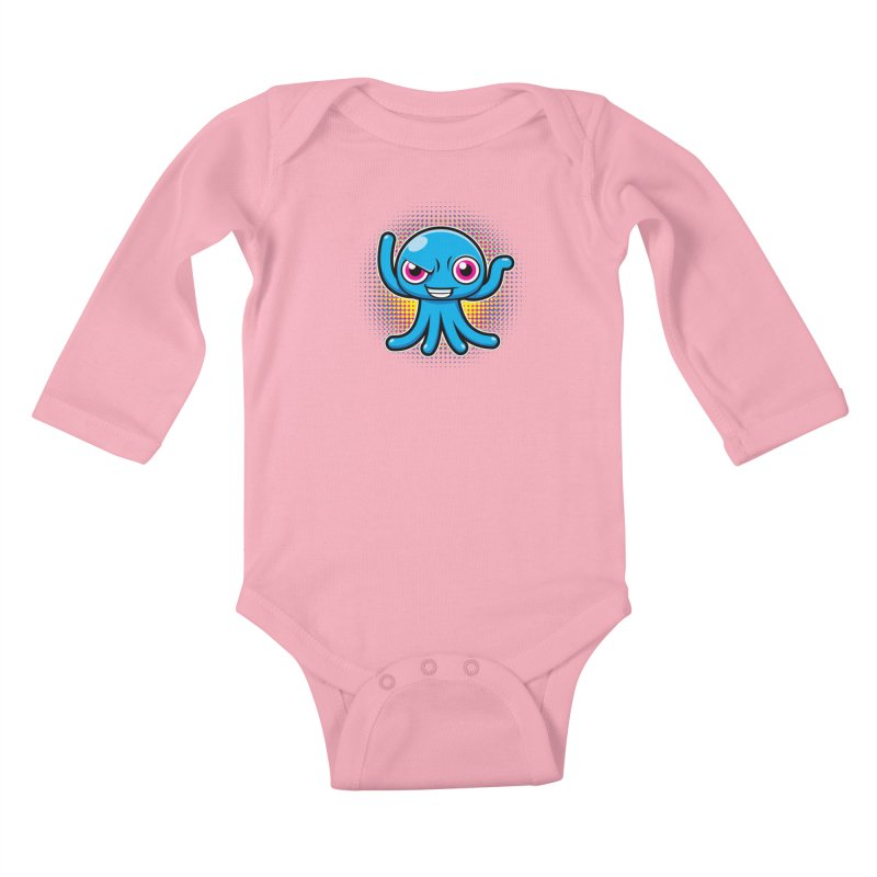 Alien Kids Baby Longsleeve Bodysuit by hookeeak's Artist Shop
