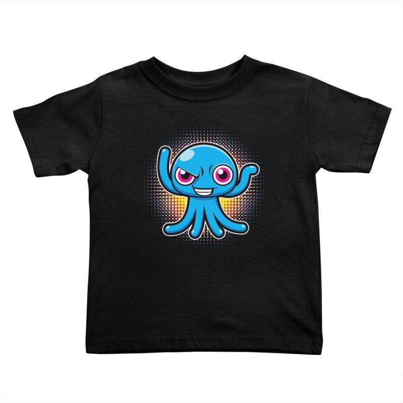 Alien Kids Toddler T-Shirt by hookeeak's Artist Shop
