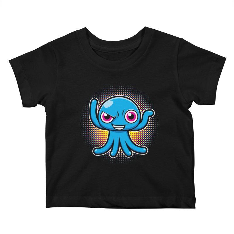 Alien Kids Baby T-Shirt by hookeeak's Artist Shop