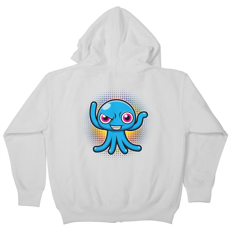 Alien Kids Zip-Up Hoody by hookeeak's Artist Shop