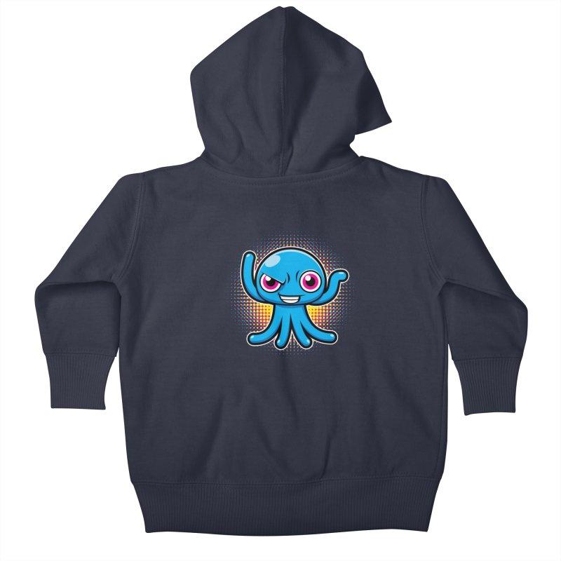 Alien Kids Baby Zip-Up Hoody by hookeeak's Artist Shop