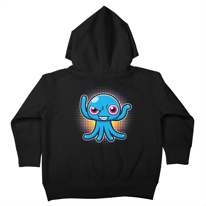 Alien Kids Toddler Zip-Up Hoody by hookeeak's Artist Shop