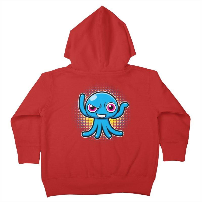 Alien Kids Toddler Zip-Up Hoody by hookeeak's Artist Shop