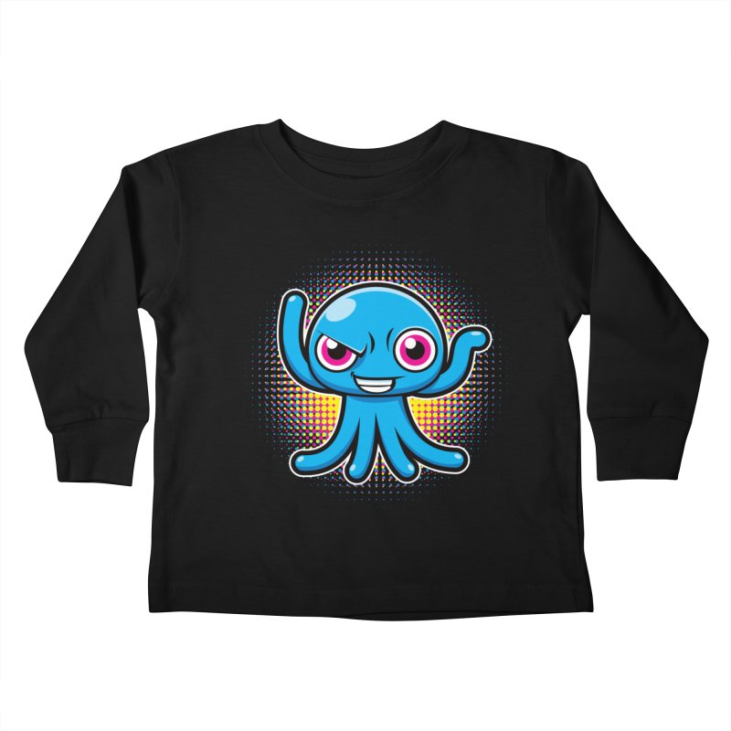 Alien Kids Toddler Longsleeve T-Shirt by hookeeak's Artist Shop