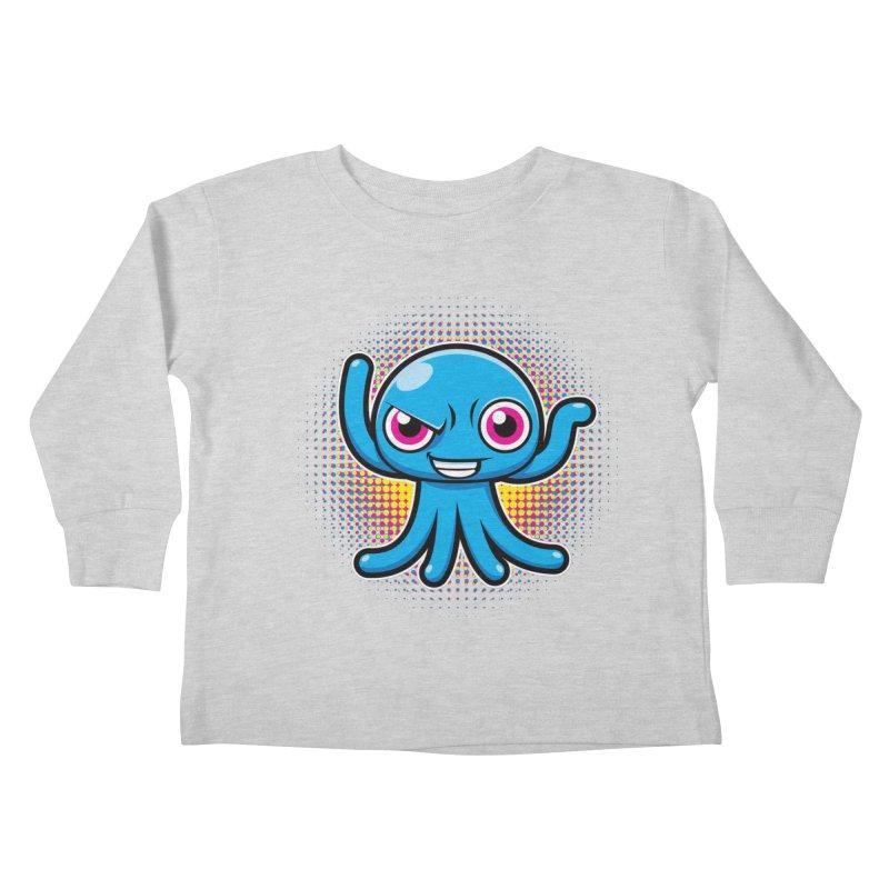 Alien Kids Toddler Longsleeve T-Shirt by hookeeak's Artist Shop