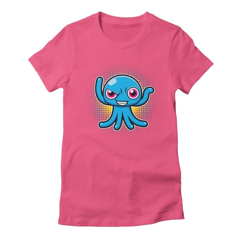Alien Women's Fitted T-Shirt by hookeeak's Artist Shop