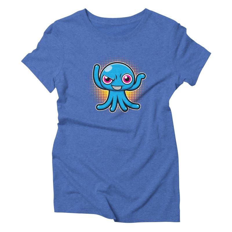 Alien Women's Triblend T-Shirt by hookeeak's Artist Shop