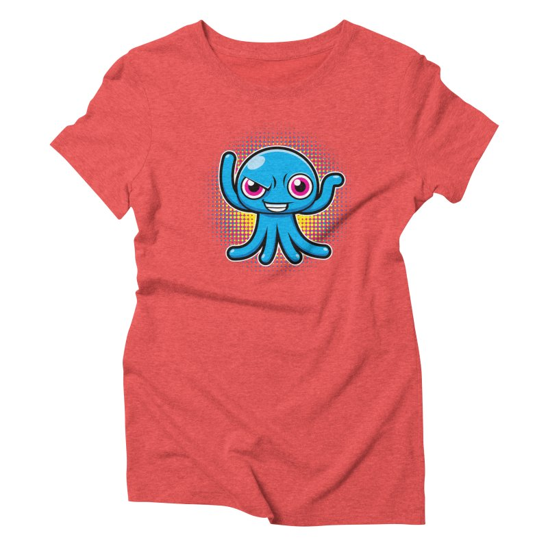 Alien Women's Triblend T-shirt by hookeeak's Artist Shop