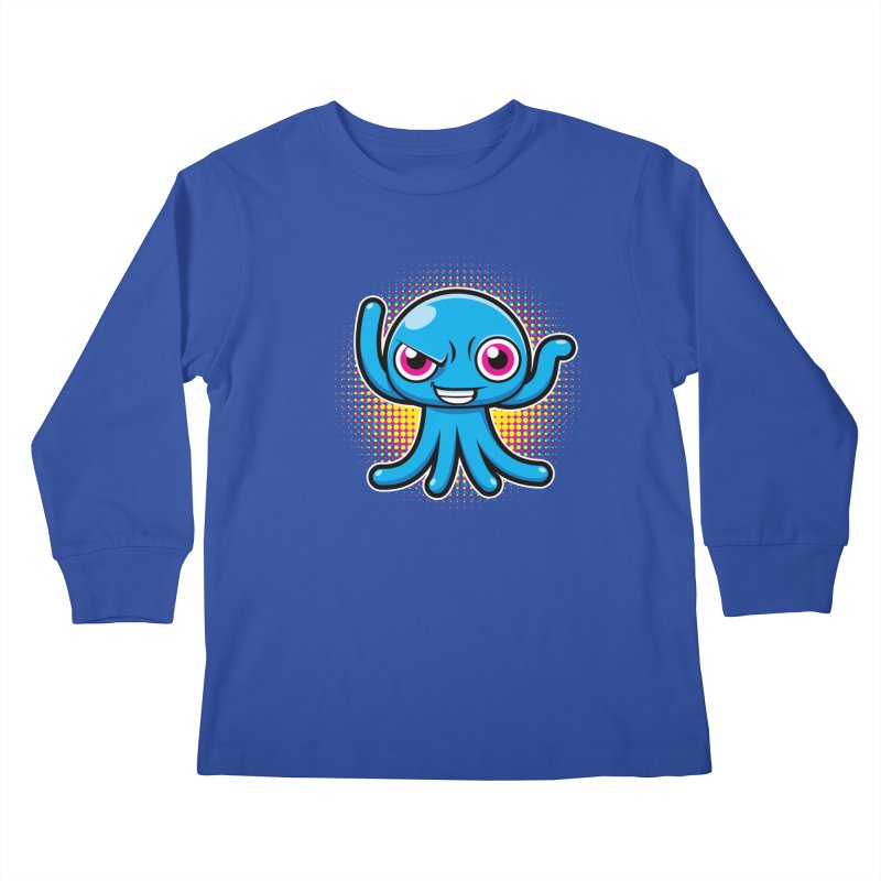 Alien Kids Longsleeve T-Shirt by hookeeak's Artist Shop