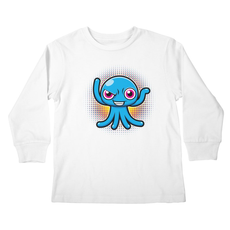 Alien Kids Longsleeve T-Shirt by hookeeak's Artist Shop