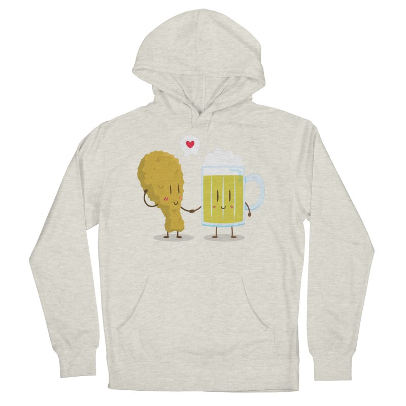 Fried Chicken + Beer = Love Women's Pullover Hoody by hookeeak's Artist Shop