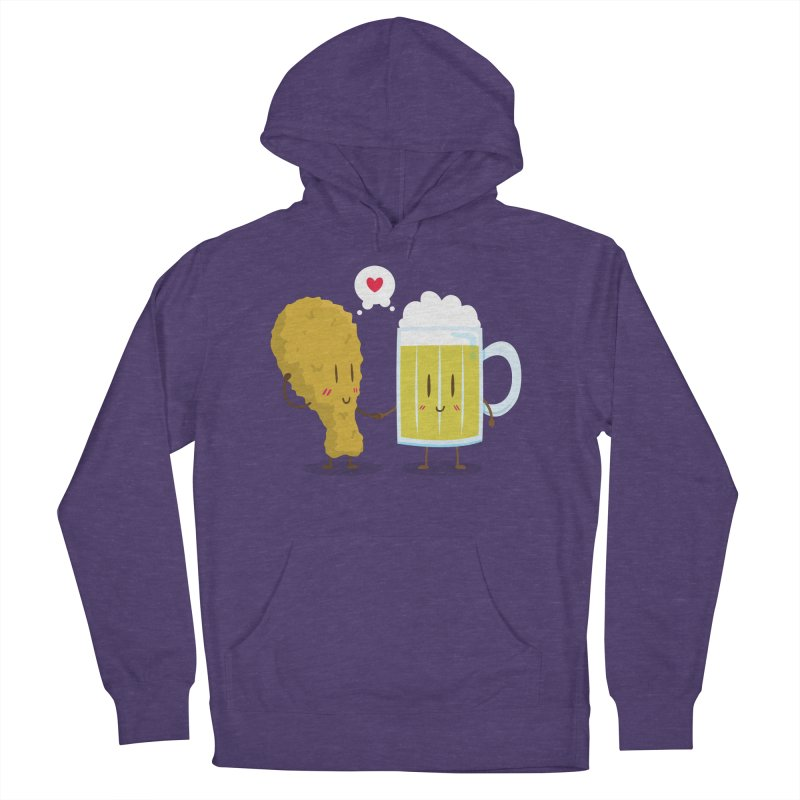 Fried Chicken + Beer = Love Men's Pullover Hoody by hookeeak's Artist Shop