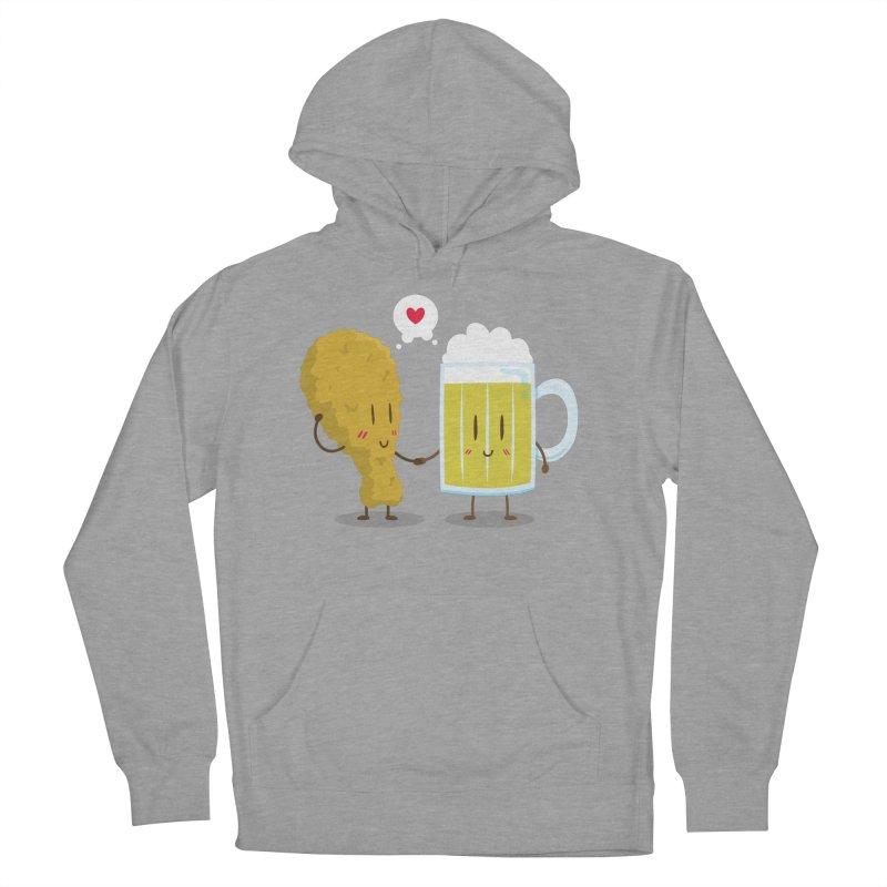 Fried Chicken + Beer = Love Men's Pullover Hoody by hookeeak's Artist Shop