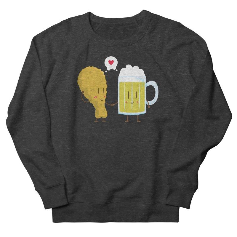 Fried Chicken + Beer = Love Men's Sweatshirt by hookeeak's Artist Shop