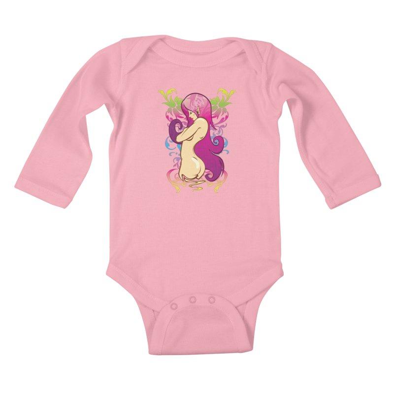 Elf Kids Baby Longsleeve Bodysuit by hookeeak's Artist Shop