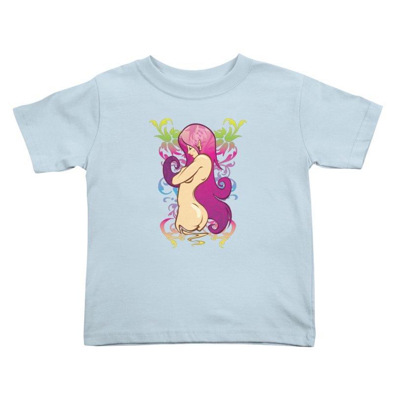 Elf Kids Toddler T-Shirt by hookeeak's Artist Shop