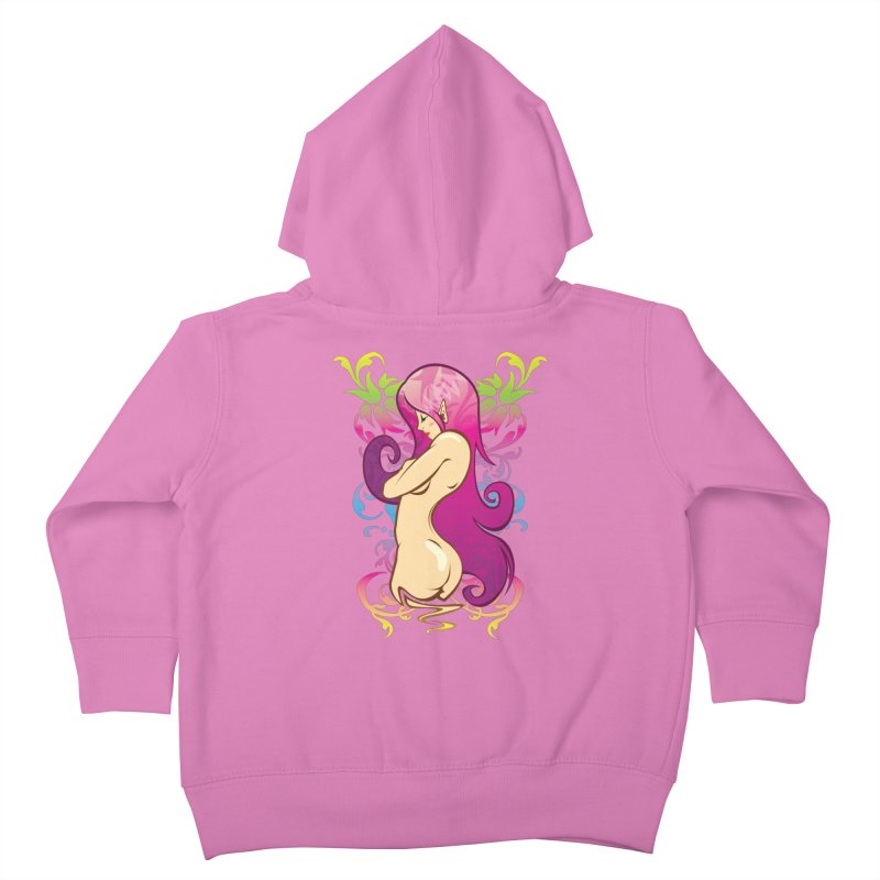 Elf Kids Toddler Zip-Up Hoody by hookeeak's Artist Shop