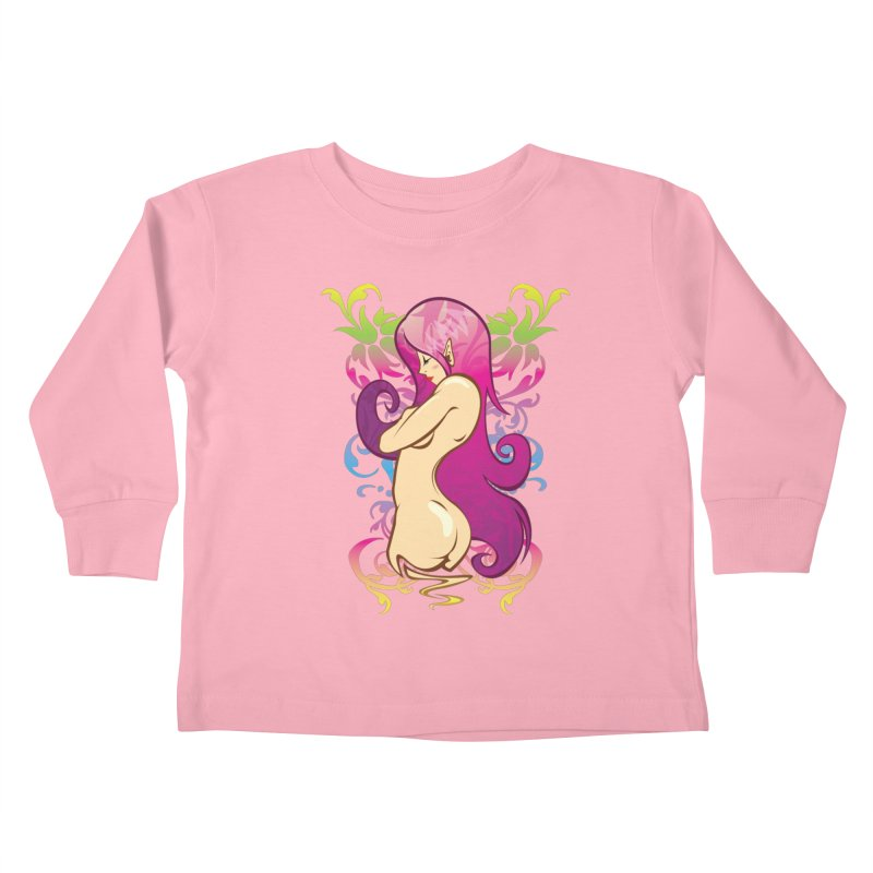 Elf Kids Toddler Longsleeve T-Shirt by hookeeak's Artist Shop