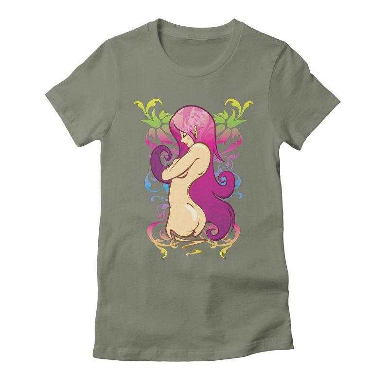 Elf Women's Fitted T-Shirt by hookeeak's Artist Shop