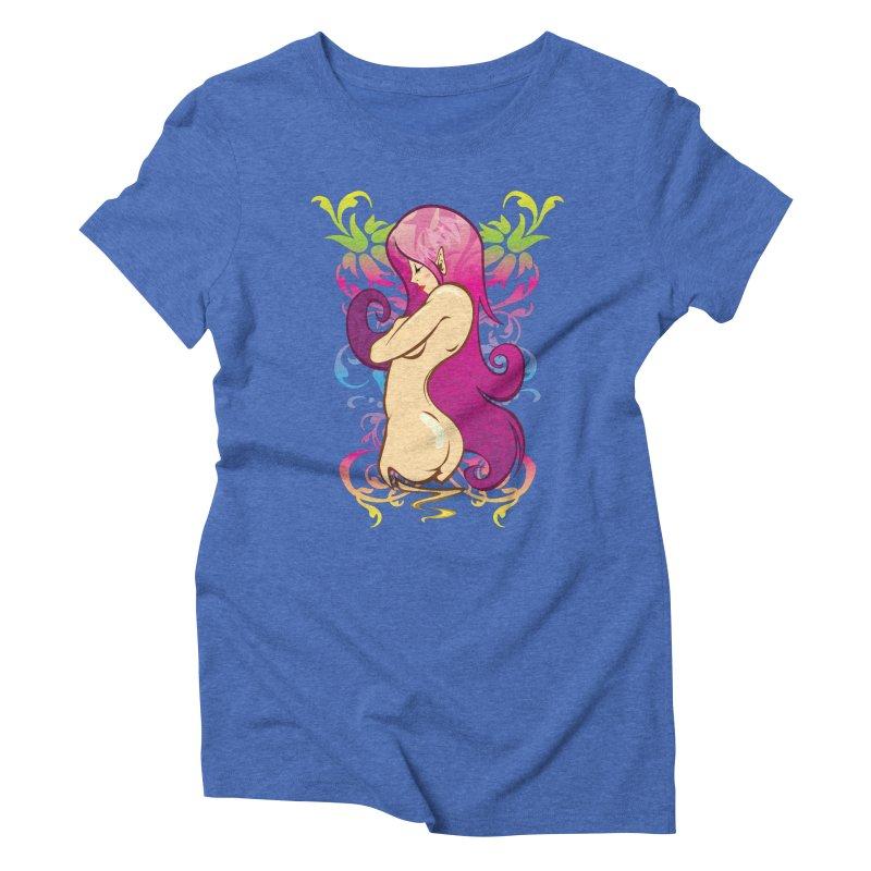 Elf Women's Triblend T-shirt by hookeeak's Artist Shop