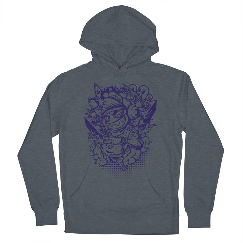 CRAZY MONKEY BEAT Women's Pullover Hoody by hookeeak's Artist Shop
