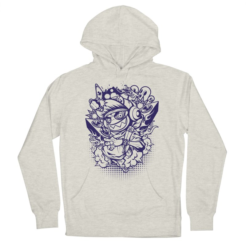 CRAZY MONKEY BEAT Men's Pullover Hoody by hookeeak's Artist Shop