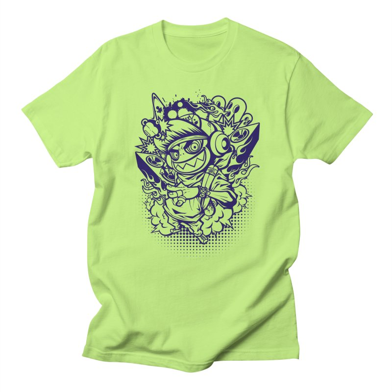 CRAZY MONKEY BEAT Men's T-shirt by hookeeak's Artist Shop