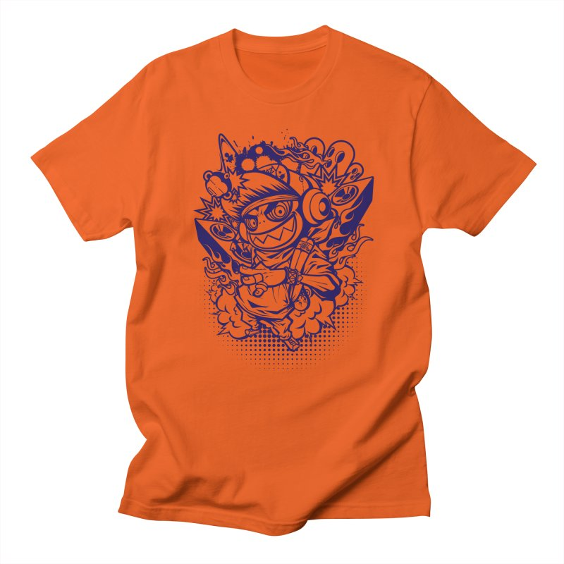 CRAZY MONKEY BEAT Men's T-shirt by hookeeak's Artist Shop