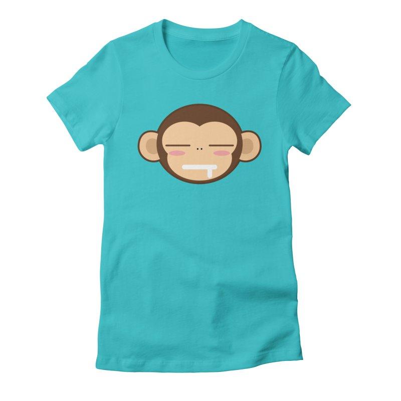 Zz Mong Women's Fitted T-Shirt by hookeeak's Artist Shop