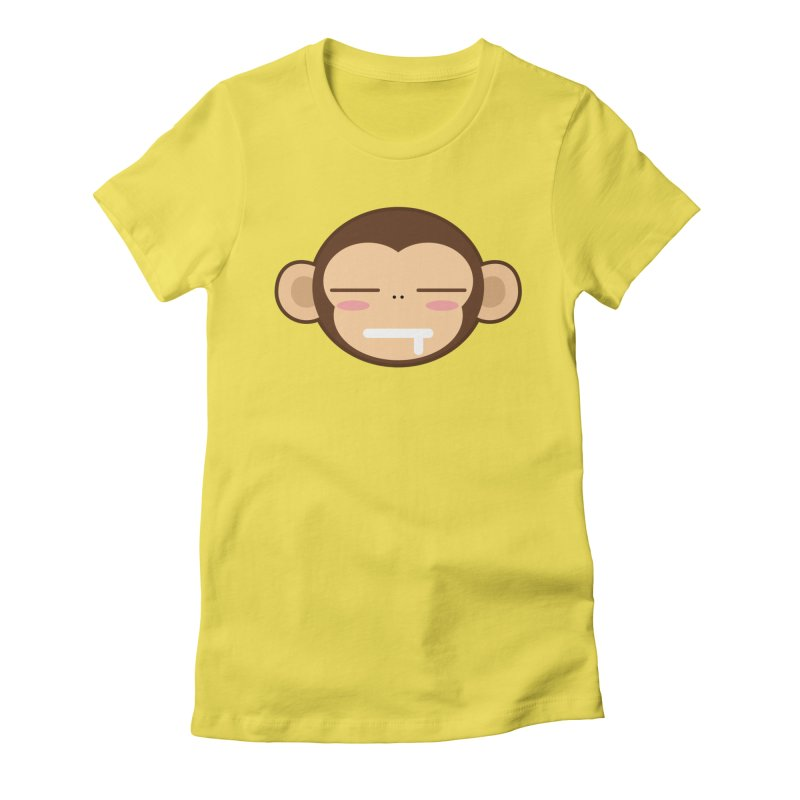 Zz Mong Women's Fitted T-Shirt by hookeeak's Artist Shop