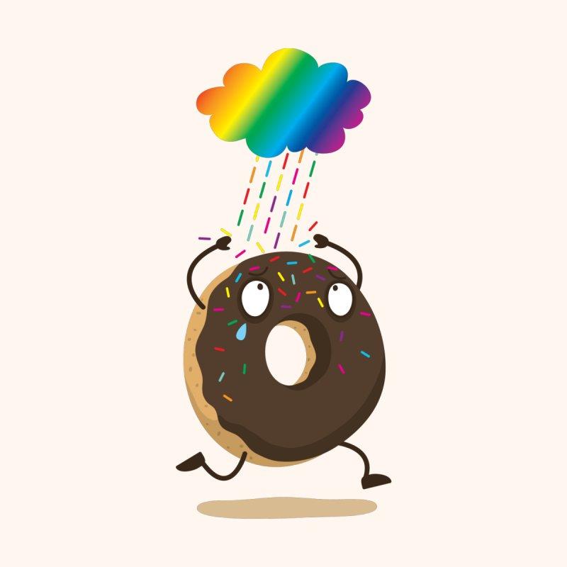 Rainbow Sugar Rain None  by hookeeak's Artist Shop