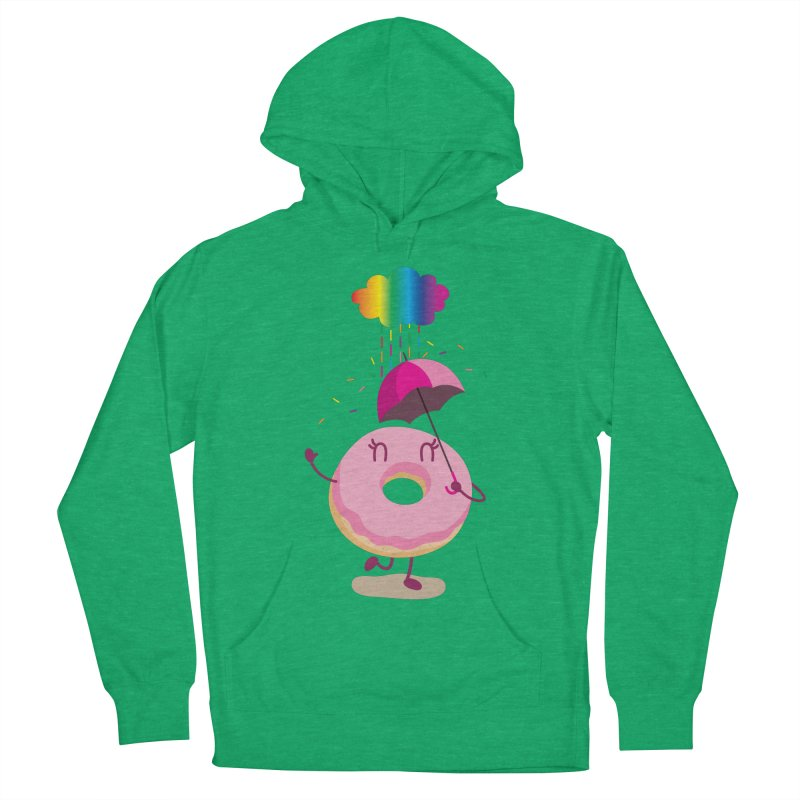 Rainbow Sugar Rain 2 Women's Pullover Hoody by hookeeak's Artist Shop